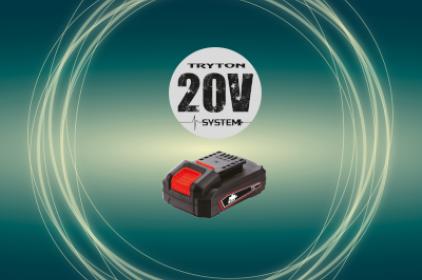 SYSTEM AKUMULATOROWY TRYTON 20V
